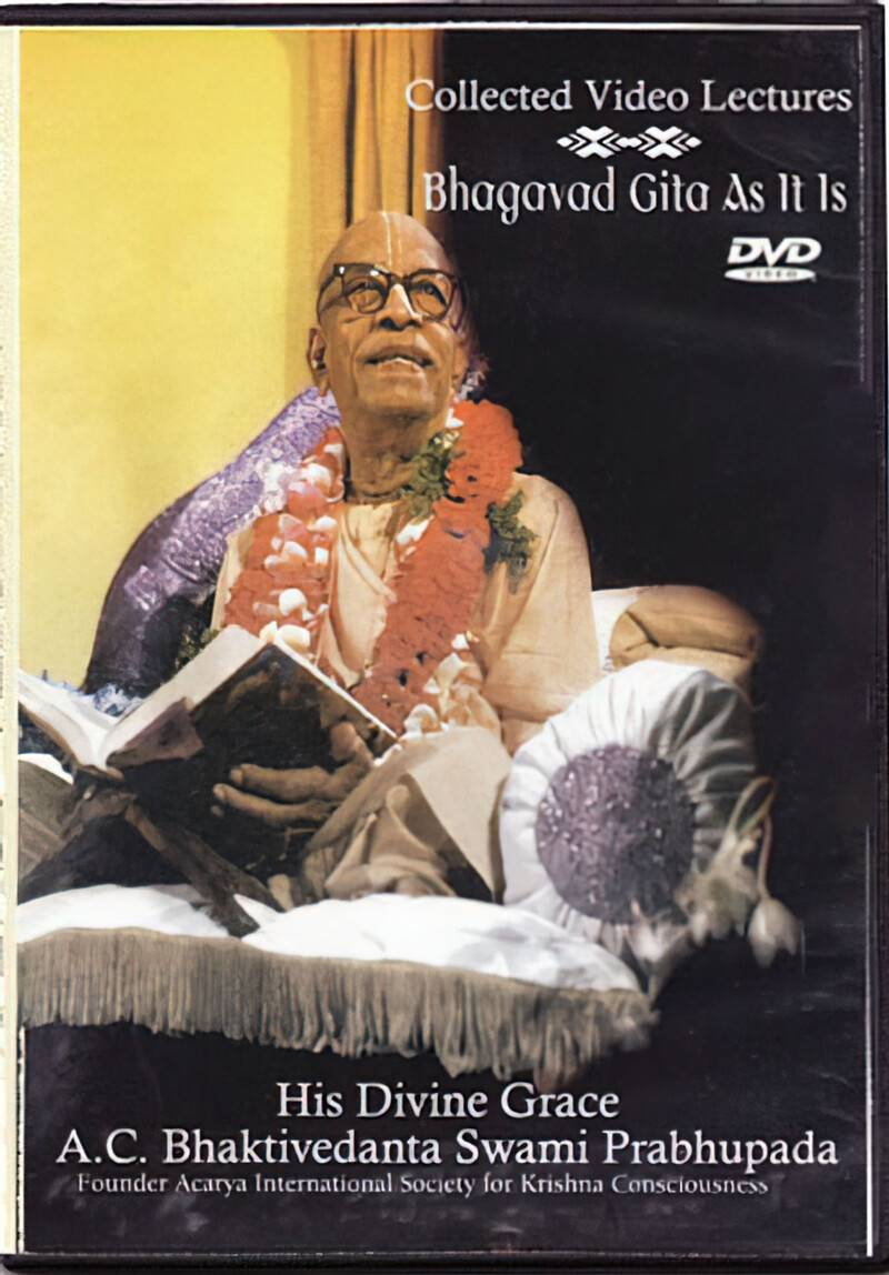 Bhagavad Gita As It Is Collected Video Lectures --  DVD