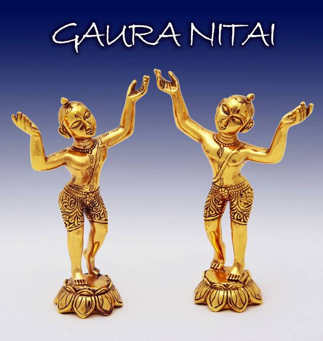 Gaura Nitai Dolls / Deities (7.5