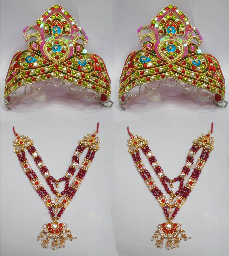 Large Crown and Necklace Set -- Type 3 -- For 20
