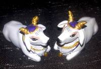 Cute Krishna's Cows White 2.5