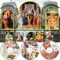 Traveling Hare Krishna Temple & Morning Program CDs