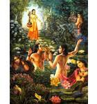 Narada Muni Sees the Sons of Kuvera Naked and Enjoying with Women