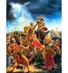 King Kamsa Tries to Kill His Sister, Devaki