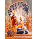 Lord Vishnu on Sesa-Naga
