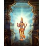Lord Vishnu In a Doorway