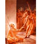 Lord Caitanya Attracts the Mayavadi Sannyasis