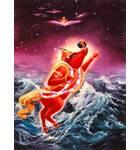 Lord Varaha Saves the Earth