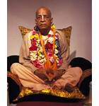 Srila Prabhupada Looking Very Serious -- Studio Portrait