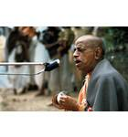 Srila Prabhupada Leads Kirtan Outside Sitting on Grass