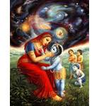 Krishna Shows Mother Yasoda the Universe in His Mouth