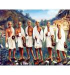 Six Goswamis of Vrndavana