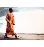 Srila Prabhupada Walking by the Water