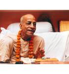 Srila Prabhupada at Mayapur Behind Desk