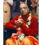 Srila Prabhupada in New York, Red Sweater