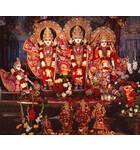 Sri Sri Sita Rama Laksmana and Hanuman - New Delhi, India
