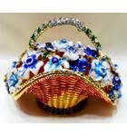 Golden Basket for Keeping Perfume