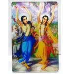 Acrylic Stand -- Gaura-Nitai  (large size)