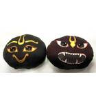 Childrens Stuffed Toy: Narayana Sila and Narasimha Sila Dolls (Set of 2)