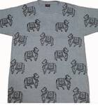 T-Shirt: All Over Cow Hand Print