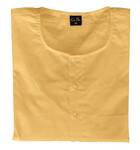 Kurta -- Cotton, saffron