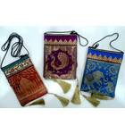 "Zip Bag With Traditional Indian Designs (3.9"" x 5.9"")"